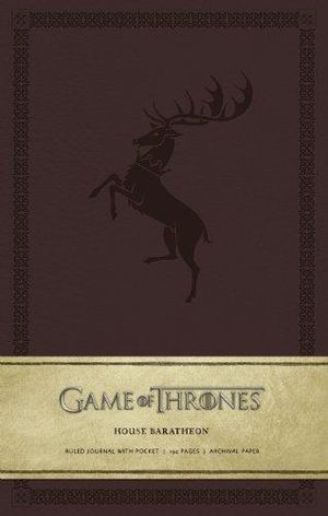 Game of Thrones Ruled Journal : House of Baratheon - Insight Editions