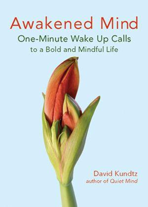Awakened Mind : One-Minute Wake Up Calls to a Bold and Mindful Life - David Kundtz
