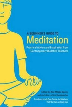 A Beginner's Guide to Meditation : Practical Advice and Inspiration from Contemporary Buddhist Teachers - Rod Meade Sperry