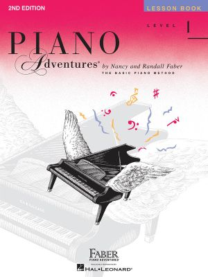 Level 1 Lesson Book : Piano Adventures - Nancy Faber