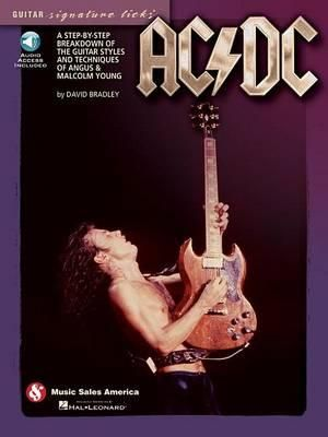 AC/DC - Guitar Signature Licks - David Bradley