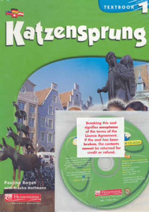Katzensprung 1: Student Textbook & CD-ROM Pack  - Pauline Rogan