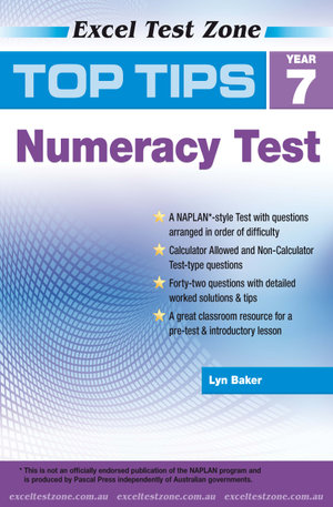 Excel Top Tips for Year 7 Numeracy Test - Lyn Baker