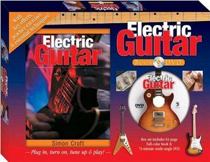 booktopia electric guitar book and dvd plug in turn on tune up play by simon croft. Black Bedroom Furniture Sets. Home Design Ideas