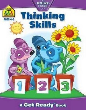 Thinking Skills : School Zone Get Ready Deluxe Workbooks Ser. - Hinkler Books Staff