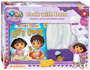 Cook With Dora Gift Box : Dora the Explorer - Books Hinkler