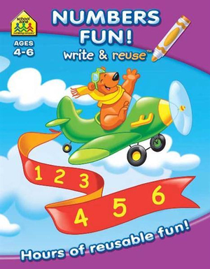 Numbers Fun : School Zone - Hinkler Books Staff
