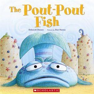 Booktopia the pout pout fish by deborah diesen for Big fish book