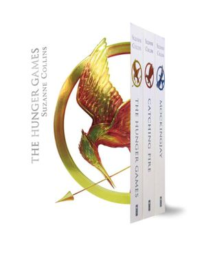 The Hunger Games - Luxury Edition Boxed Set - 3 x Paperbacks in 1 x Boxed Set : Hunger Games Trilogy - Suzanne Collins
