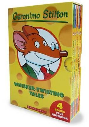 Whisker-Twisting Tales : 4 Books PLUS Notebook - Geronimo Stilton