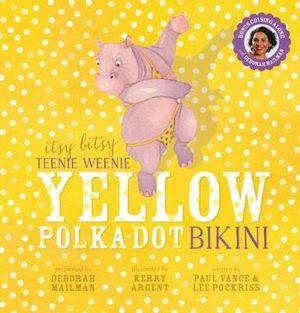 weensy yellow polka dot bikini mature milf