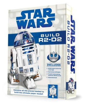 BooktopiaStar Wars Build R2-D2, Build R2-D2 Paper-Craft Kit