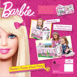 Barbie Dream House Convertible Story