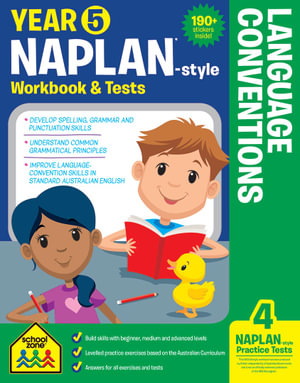 School Zone Naplan-Style Workbook : Year 5 Language Conventions - Louise Park