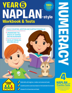 School Zone Naplan-Style Workbook : Year 5 Numeracy - Louise Park