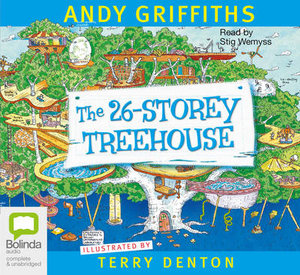 The 26-Storey Treehouse : Treehouse Series : Book 2 - Audio CD - Andy Griffiths