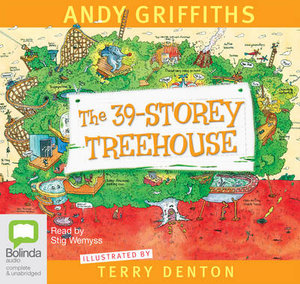 The 39-Storey Treehouse : Treehouse Series : Book 3 - Audio CD - Andy Griffiths