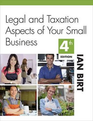 tax and legal aspects of business Legal aspects of opening and running a business by  to have a business bank account having one will make your business books much simpler and make tax time easier.