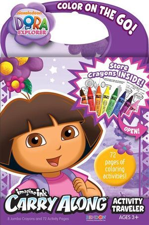 Dora the Explorer  : Imagine Ink Carry Along Activity Traveler