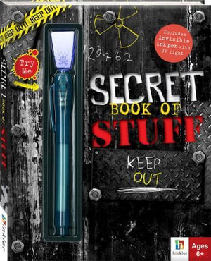 Boys' Secret Book of Stuff : With Blacklight Pen, Lock and Key