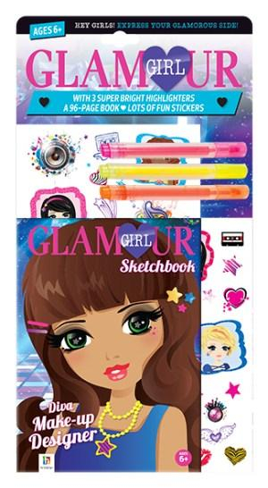 Diva Make-Up : Stationery Kit