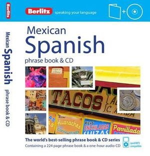 Berlitz Mexican Spanish Phrase Book & CD  - Berlitz
