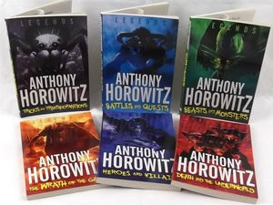 Anthony Horowitz 'Legends' 6 Books Collection Set - Anthony Horowitz