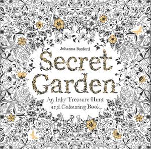 Booktopia secret garden an inky treasure hunt and for Big book of garden designs