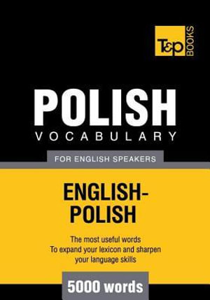 T&p English-Polish Vocabulary 5000 Words - Andrey Taranov