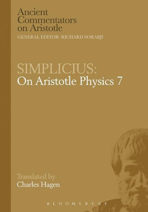 Simplicius : On Aristotle Physics 7 - C. Hagen