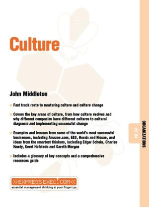 Culture (Express Exec) John Middleton