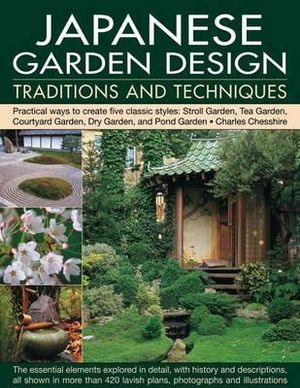 Booktopia japanese garden design traditions and for Garden pond design books