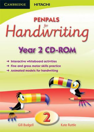 Penpals for Handwriting Year 2 CD-ROM : Penpals for Handwriting - Gill Budgell