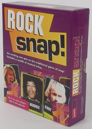 Rock Snap! : Includes a wealth of music trivia - Music Games