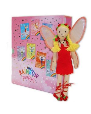 Rainbow Magic : Rainbow Magic 1 - 7 with Ruby Doll : Rainbow Magic - Daisy Meadows