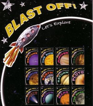 Blast Off!!  Let's Explore : 12 Book Pack - Ticktock Media Ltd
