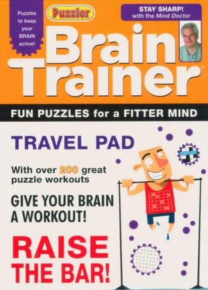 Brain Trainer  : Travel Pad With Over 200 Great Puzzle Workouts - Puzzler