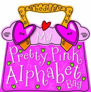 My Pretty Pink Alphabet Bag - Tim Bugbird