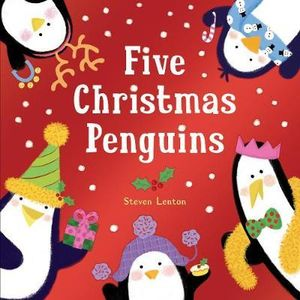 Five Christmas Penguins - Steven Lenton