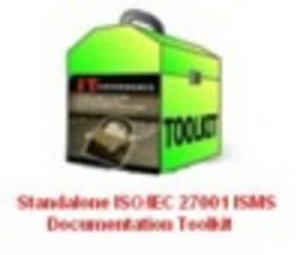 Standalone ISO27001 ISMS Documentation Toolkit : IT GOVERNANCE - ITGP