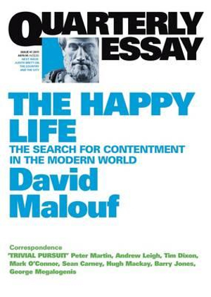 david malouf essay on happiness