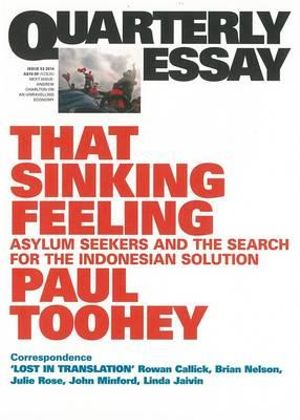 On Stopping the Boats : Quarterly Essay 53 - Paul Toohey