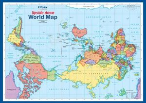 Australia upside down world map quotes gumiabroncs Images