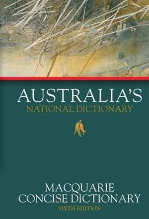 Macquarie Concise Dictionary - Macquarie