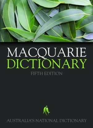 Macquarie Dictionary - Macquarie Library