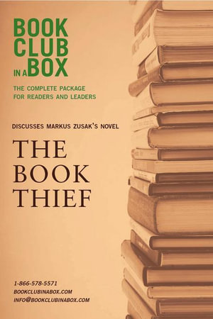 Bookclub-in-a-Box Discusses The Book Thief, by Markus Zusak - Marilyn Herbert