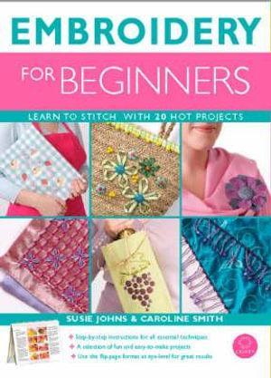 Embroidery for Beginners - Susie Johns