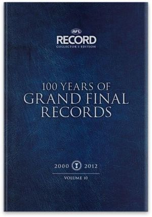 100 Years of AFL Grand Final Records - 11 x Hardcover Books in 1 x Boxed Set : 7000+ pages in 11 Volumes - AFL Record Collector's Edition - Slattery Media Group
