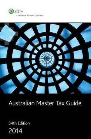 booktopia australian master tax guide 2014 by michael. Black Bedroom Furniture Sets. Home Design Ideas