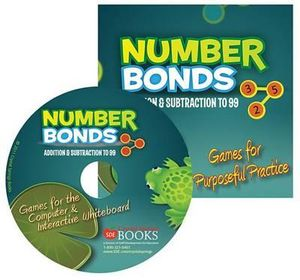 Number Bonds : Addition & Subtraction to 99: Games for Purposeful Practice - Crystal Springs Books